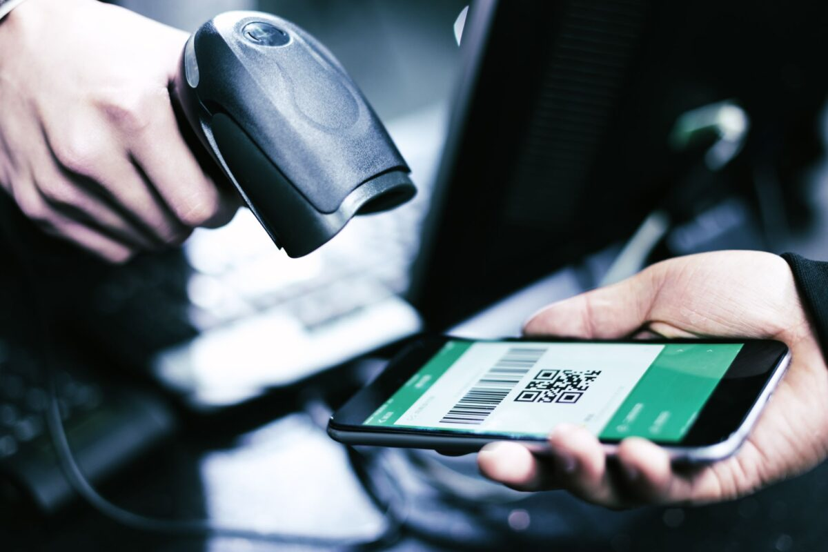 A mobile payment processing system for a small business, a service offered by Adept Payments.